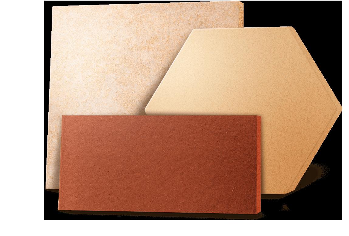 Produkte Argelith Bodenkeramik - Feinsteinzeug fliesen stärke