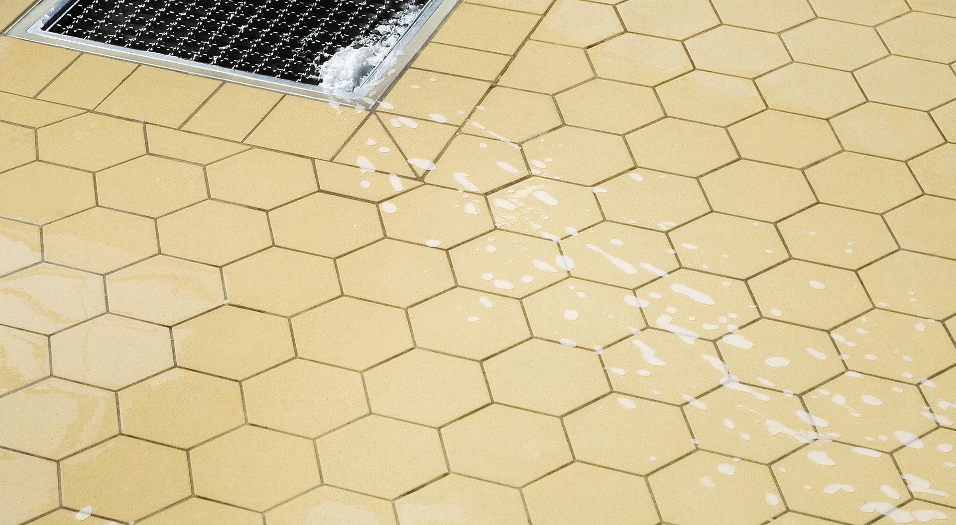 1 Hexagon Ceramic Floor Tile